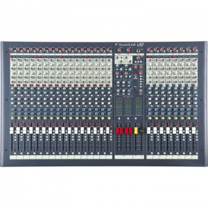Soundcraft LX 7ii/24 - mikser