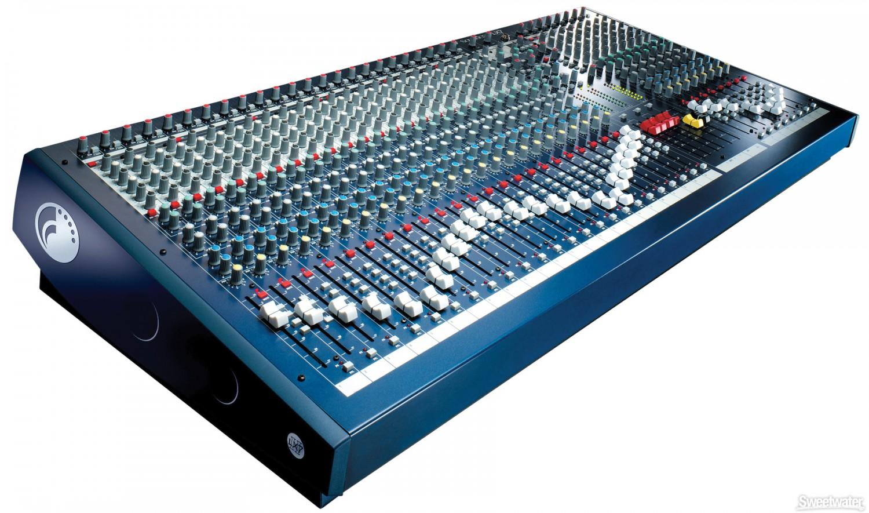 Soundcraft LX 7ii/32 - mikser
