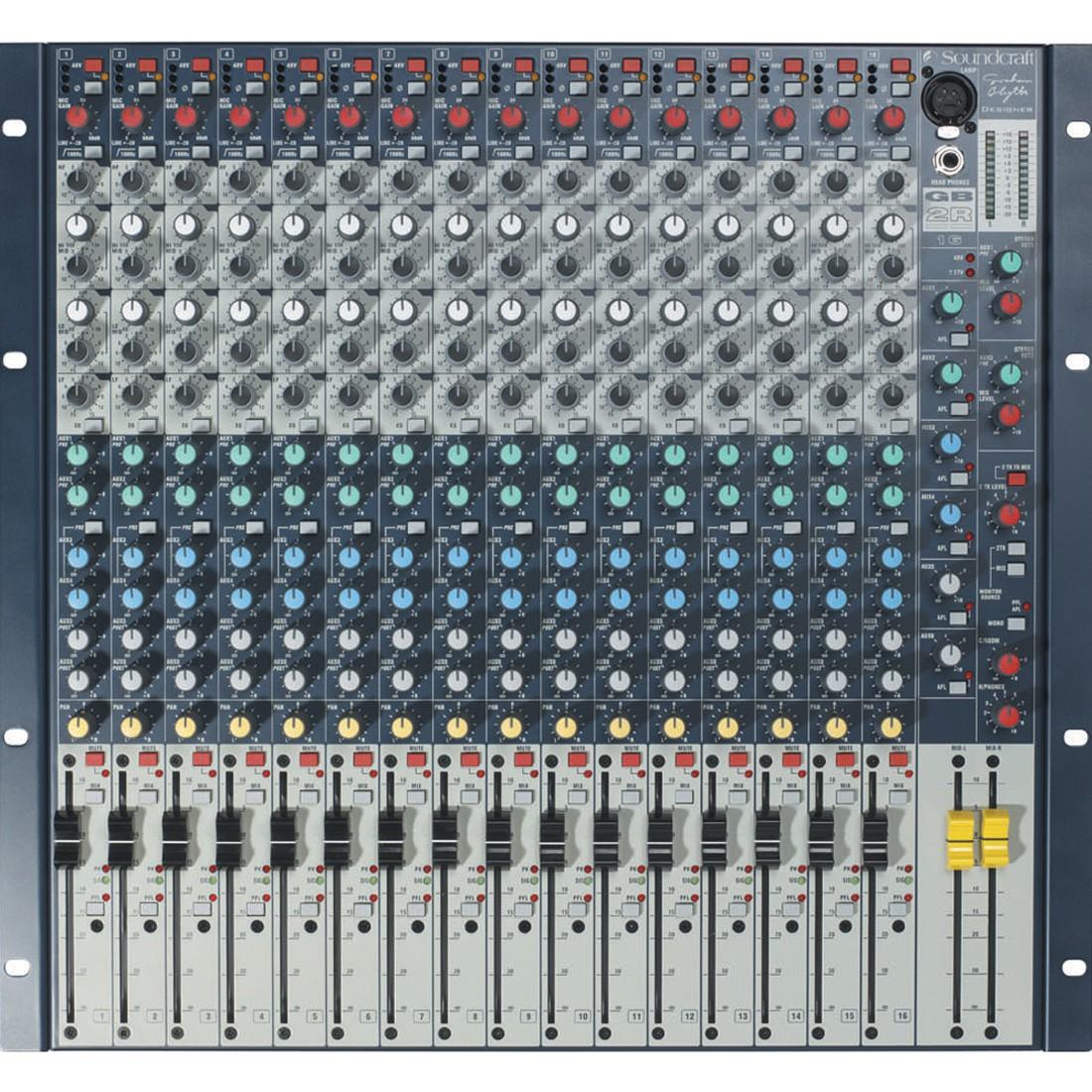 Soundcraft GB2R 16 - mikser