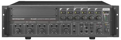 Monacor PA-6600 - wzmacniacz wielostrefowy