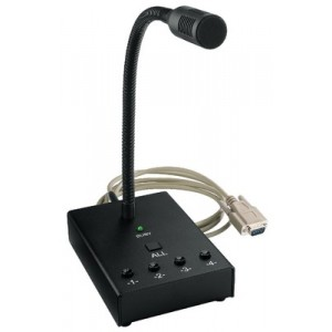 Monacor MEVAC-4PTT - mikrofon pulpitowy