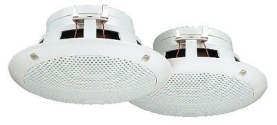 Monacor SPE-130/WS - pełnopasmowe głośniki do montażu wpustowego (para)