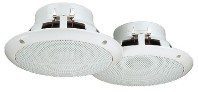 Monacor SPE-165/WS - pełnopasmowe głośniki do montażu wpustowego (para)