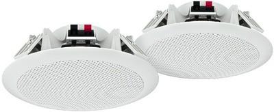 Monacor SPE-264/WS - wodoodporne głośniki sufitowe (para)