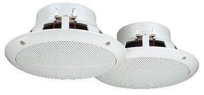Monacor SPE-265/WS - pełnopasmowe głośniki do montażu wpustowego (para)