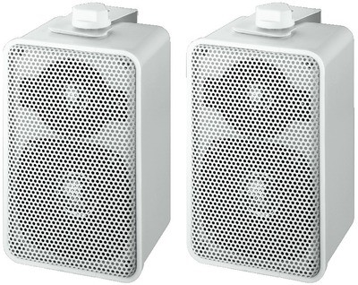 Monacor MKS-42/WS - zestaw głośnikowy naścienny (para)
