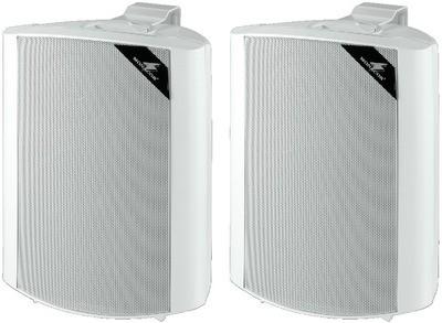 Monacor MKS-64/WS - zestaw głośnikowy naścienny (para)