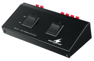 Monacor SPS-20S - listwa włączników głośnikowych