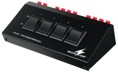 Monacor SPS-40S - listwa włączników głośnikowych