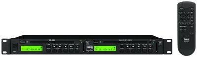 Monacor CD-122 - podwójny odtwarzacz CD/MP3