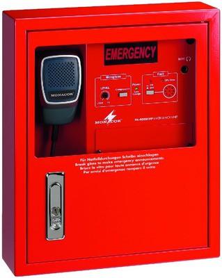 Monacor PA-4000FMP - naścienny mikrofon strażaka