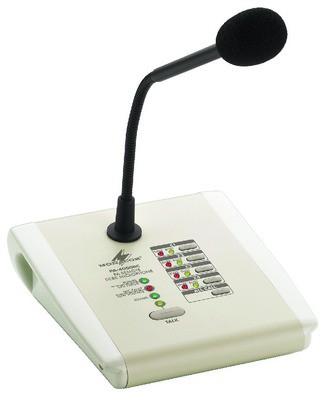 Monacor PA-4000RC - mikrofon pulpitowy/strefowy
