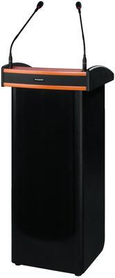 Monacor SPEECH-200 - przenośna mównica z kolumną głośnikową