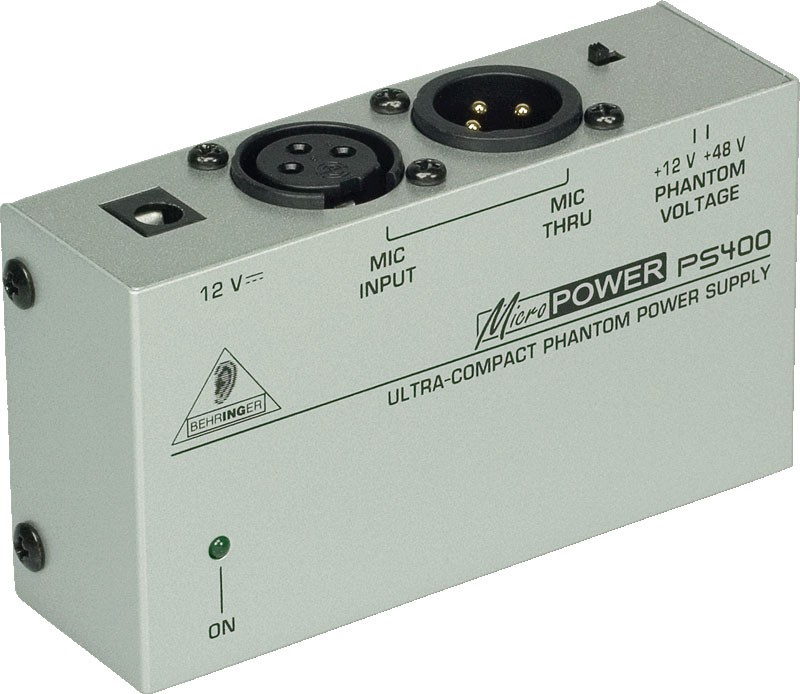 Behringer MICROPOWER PS400 - zasilacz phantom