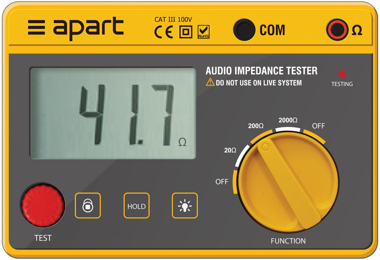 Apart IMPMET - Cyfrowy miernik impedancji