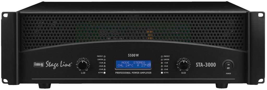 IMG Stage Line STA-3000 - końcówka mocy