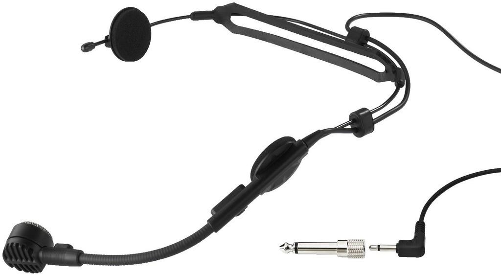Monacor HM-30 - dynamiczny mikrofon nagłowny