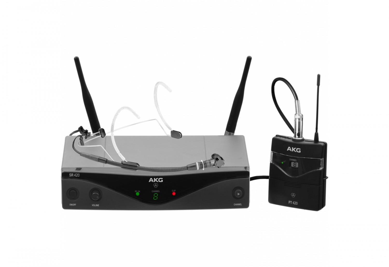 AKG WMS 420 Head Set - system bezprzewodowy nagłowny