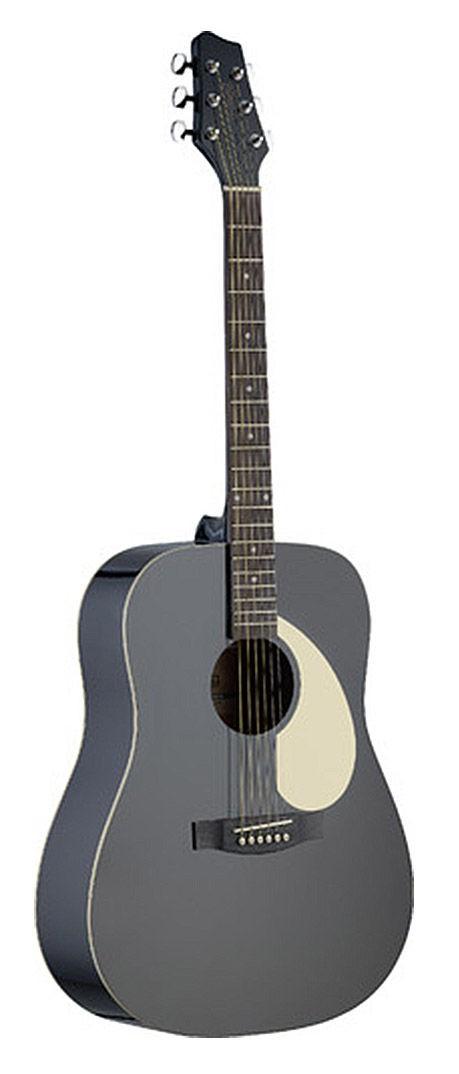 Stagg SA30DBK - gitara akustyczna