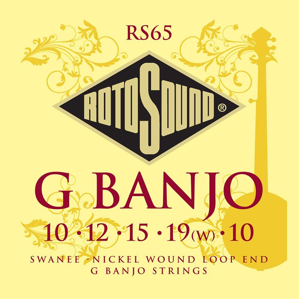 RotoSound RS65 - struny do 5-str. banjo