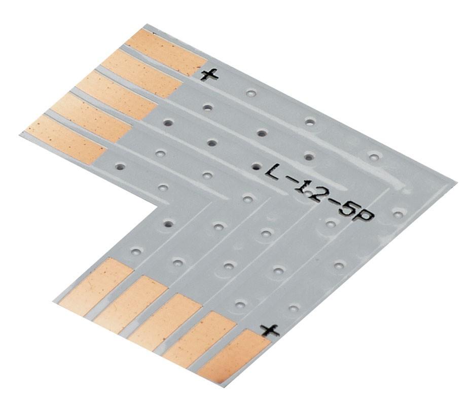 CONTEST LCO-5 - Złącze RGBW ribbon typu L - 12 mm