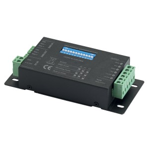 CONTEST TAPEDRIVER-4 - Sterownik DMX - 4 kanały - 12-24VDC - 4 x 2,5A maks