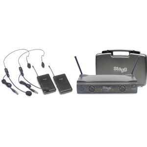 Stagg SUW 50 HH FH EU - bezprzewodowy system UHF