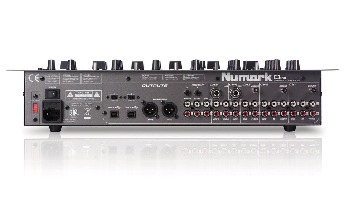 Numark C3USB - mikser DJ