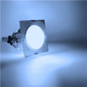American DJ Dichrofilter PAR 56 (srebrny) niebieski - filtr do reflektorów PAR 56
