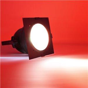 American DJ Dichrofilter PAR 64 (czarny) czerwony - filtr do reflektorów PAR 64