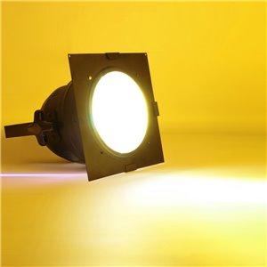 American DJ Dichrofilter PAR 64 (czarny) żółty - filtr do reflektorów PAR 64