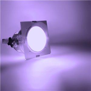 American DJ Dichrofilter PAR 64 (srebrny) fioletowy - filtr do reflektorów PAR 64