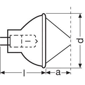 Osram 15V/150W EFR - żarówka halogenowa
