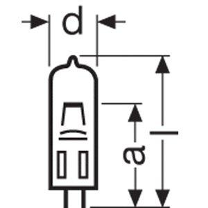 Osram 24V/250W EHJ - żarówka halogenowa