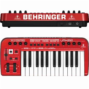 Behringer U-CONTROL UMX250 - klawiatura sterująca
