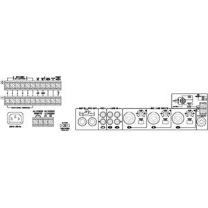 Monacor PA-6480 - wzmacniacz wielostefowy
