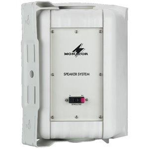 Monacor MKA-60SET/WS - aktywny zestaw głośnikowy stereo