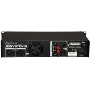JB Systems DSPA-1500 - końcówka mocy z procesorem DSP