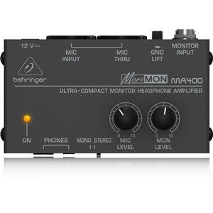Behringer MICROMON MA400 - wzmacniacz słuchawkowy