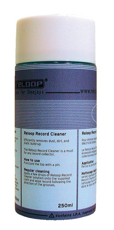 Reloop Record Cleaner MK2 250ml - płyn do czyszczenia płyt