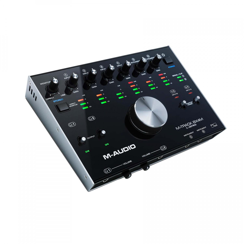 M-Audio M-Track 8X4M – interfejs audio/MIDI na USB
