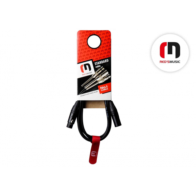 Reds Music MC 11 50 BK - kabel mikrofonowy (5m)