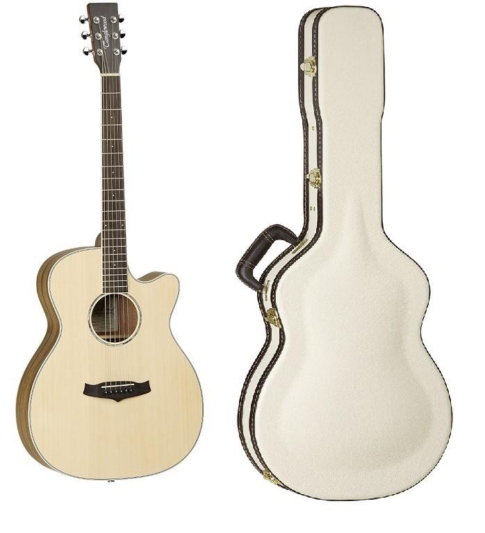 TANGLEWOOD TPE-SFCE-ZS + TWCC - gitara elektroakustyczna z futerałem