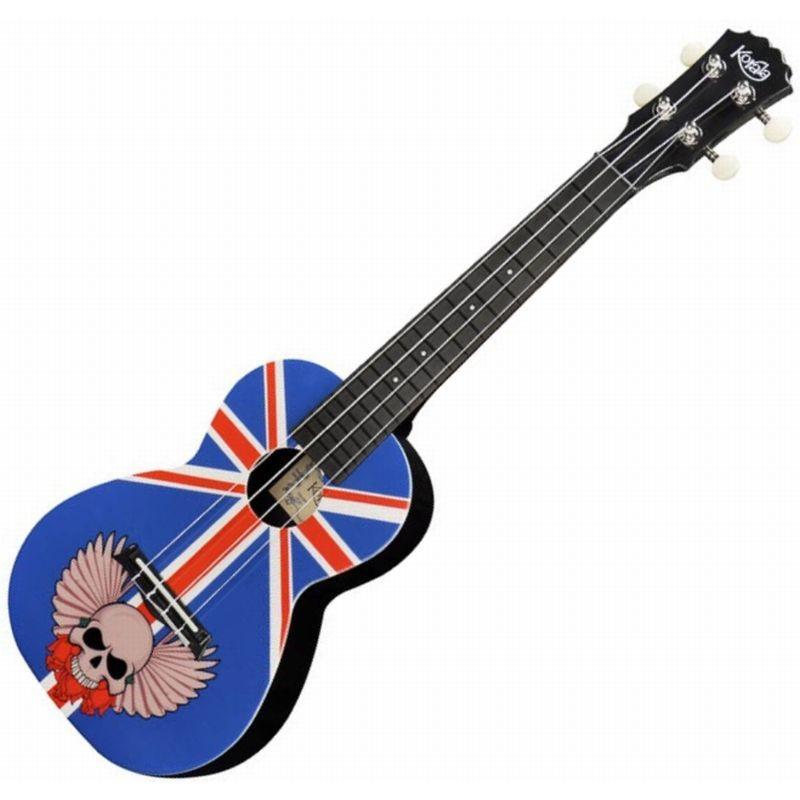 KORALA PUC-30-003 UnionJackWithSkull - ukulele sopranowe - POEKSPOZYCYJNE