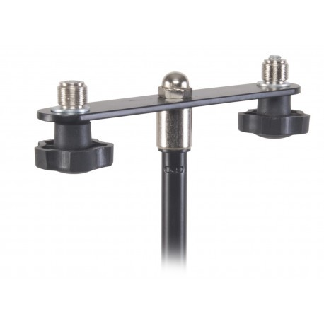 Proel APM72 - stalowa poprzeczka na 2 mikrofony