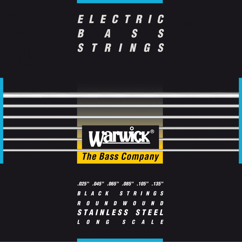 WARWICK 40401 - struny do gitary basowej 6-String, Medium, .025-.135