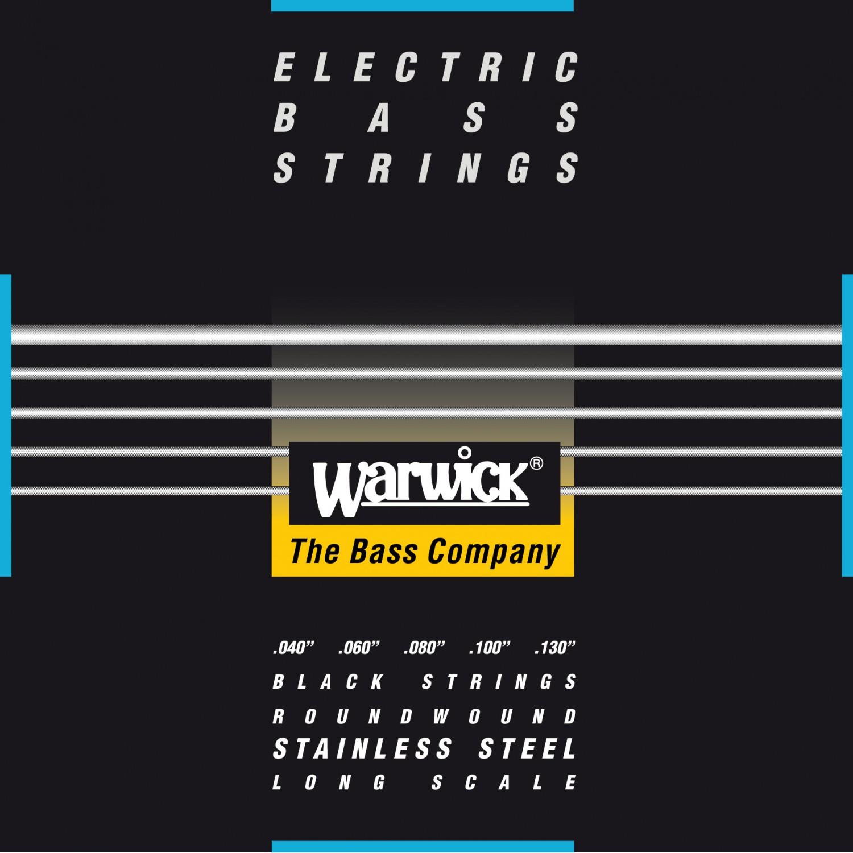 WARWICK 40300 - struny do gitary basowej 5-String, Medium Light, .040-.130