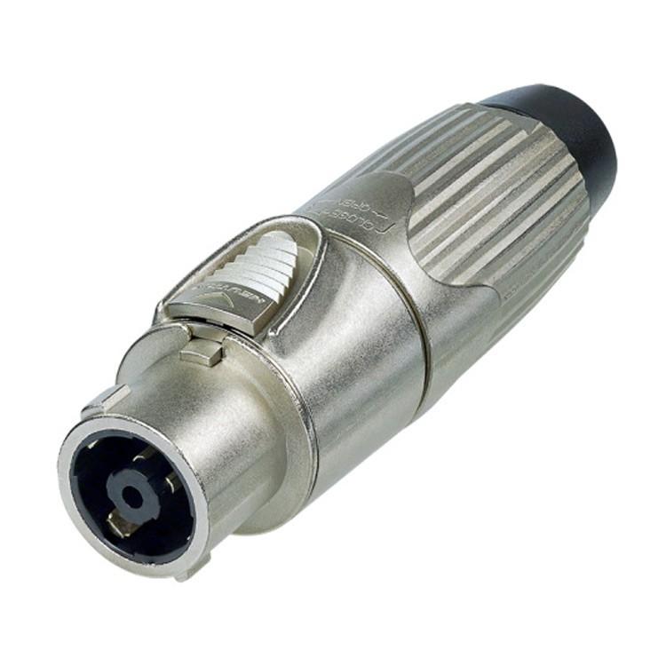 Neutrik NLT8FX - Speakon Connector 8 Pin female, Nickel