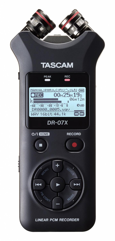 Tascam DR-07X - rejestrator dźwięku