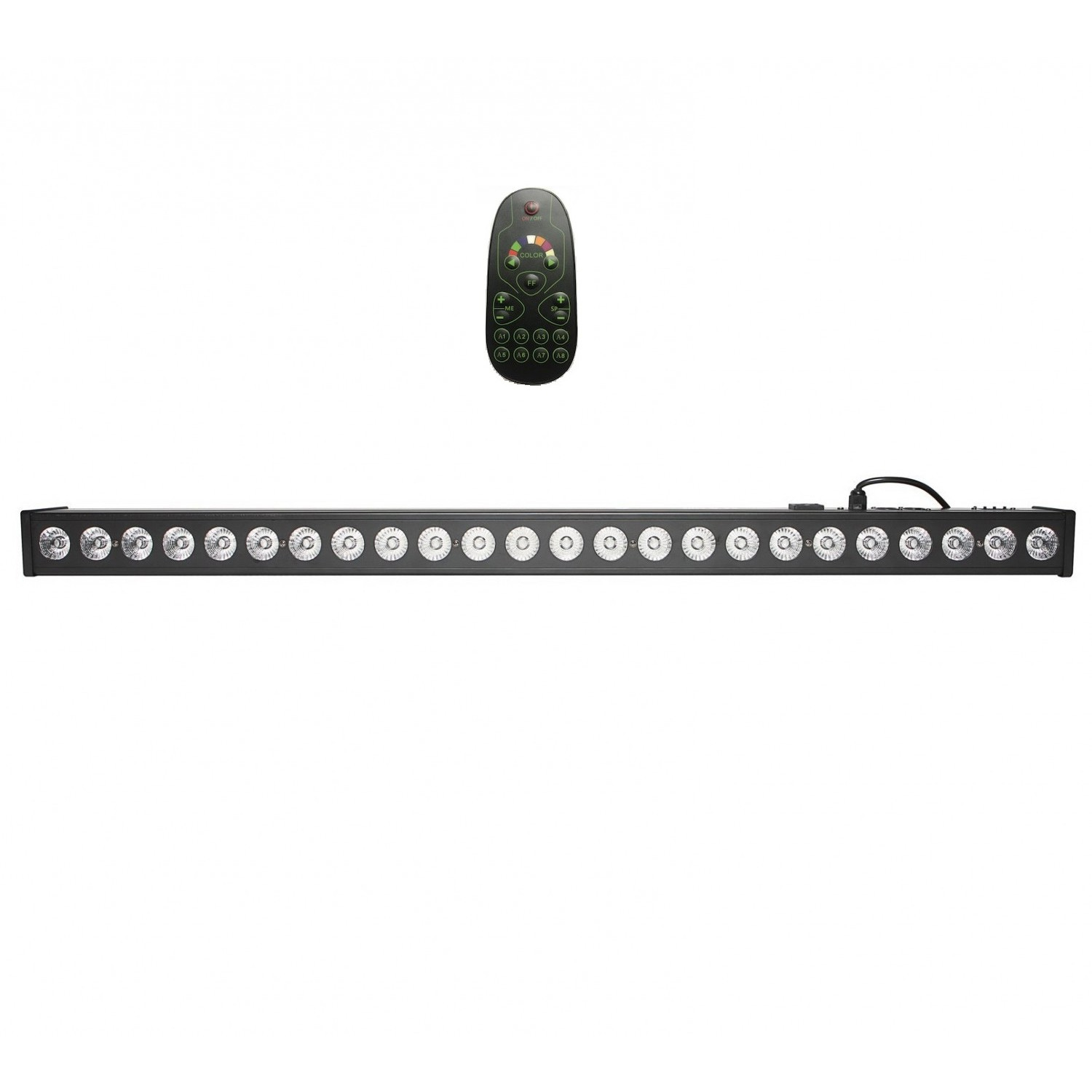 Fractal LED BAR 24x3W - belka LED BAR z pilotem